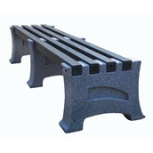 Premier Stone Effect 3 Seater Bench